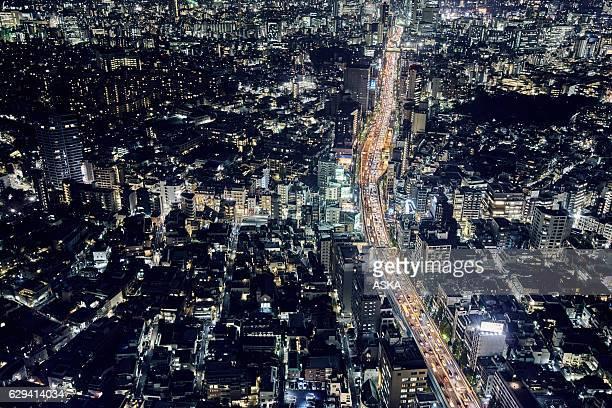 スカイラインの東京,日本