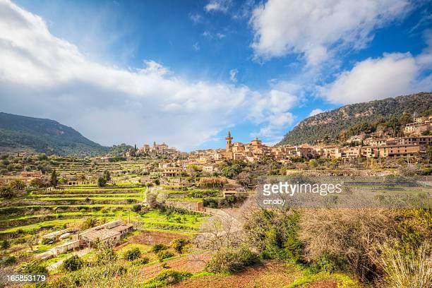 Panorama de Valldemossa-Majorque, Espagne