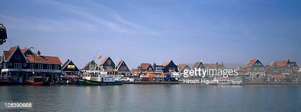 Skyline of Volendam, Holland