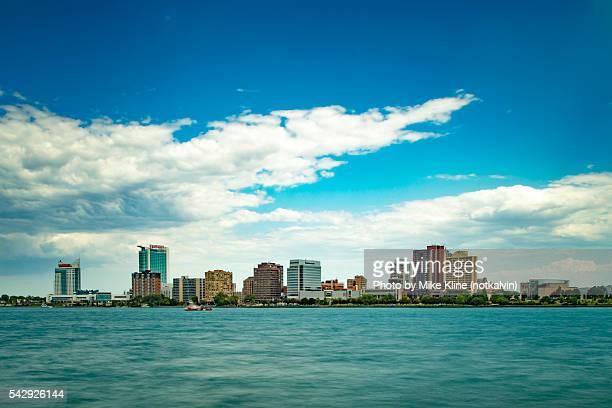 Skyline of Windsor Ontario