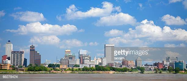 Skyline Panorama of Memphis, Tennessee