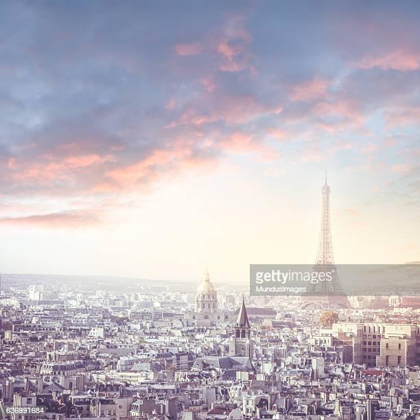 Ville de Paris, en France et de la Tour Eiffel