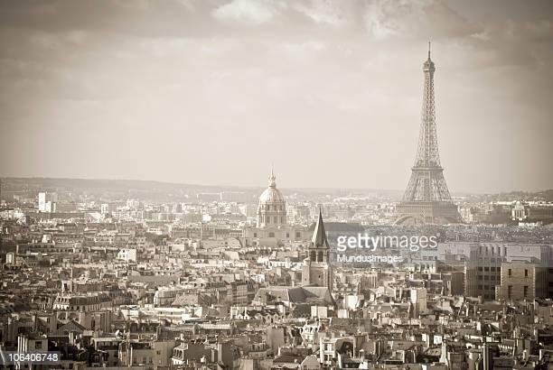 vintage paris - paris noir et blanc photos et images de collection