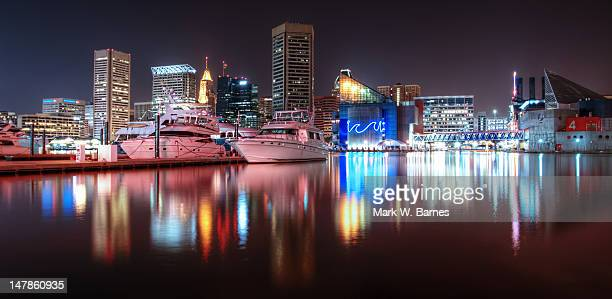 skyline - baltimore stock photos and pictures