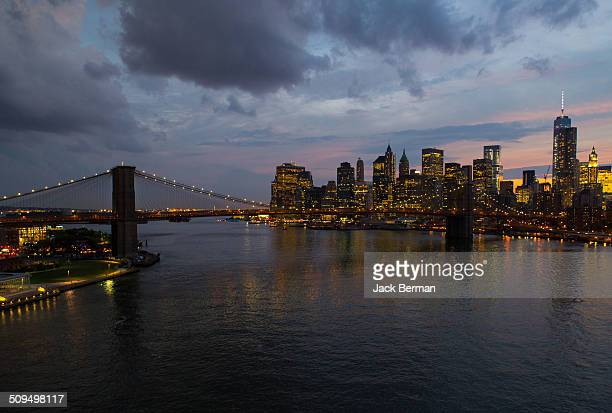 nyc skyline - national_historic_landmark stock pictures, royalty-free photos & images