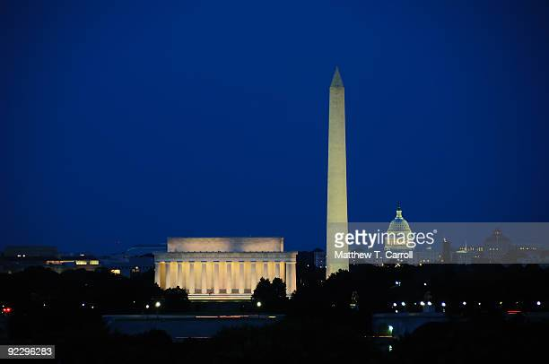 dc skyline - washington dc stock pictures, royalty-free photos & images
