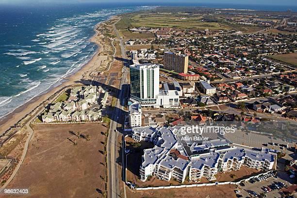 skyline - port elizabeth südafrika stock-fotos und bilder