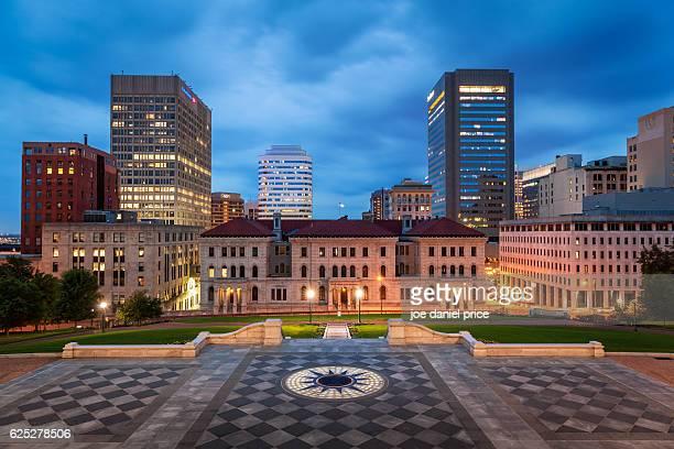 Skyline, Richmond, Virginia, America
