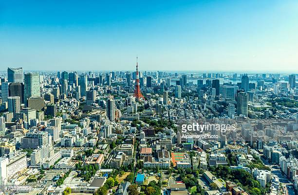 街並みと東京湾のダウンタウン方面に向かいます。