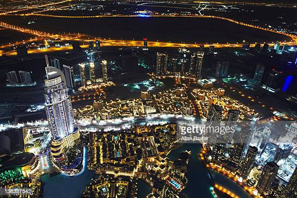 Skyline view from Burj Khalifa