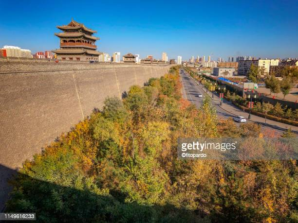 Skyline view from Datong at the wall