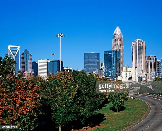 Skyline view of Charlotte