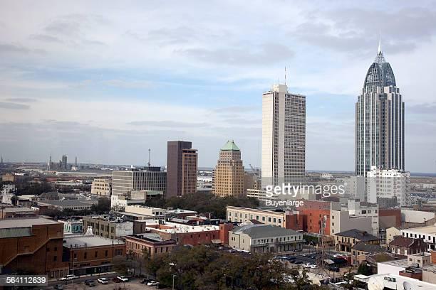 Skyline view of Mobile Alabama