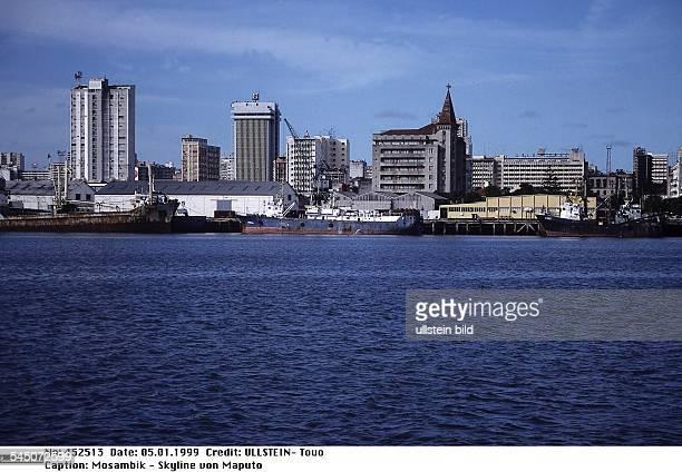 Skyline von Maputo Januar 1999