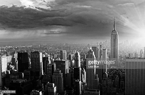Skyline von New York City.