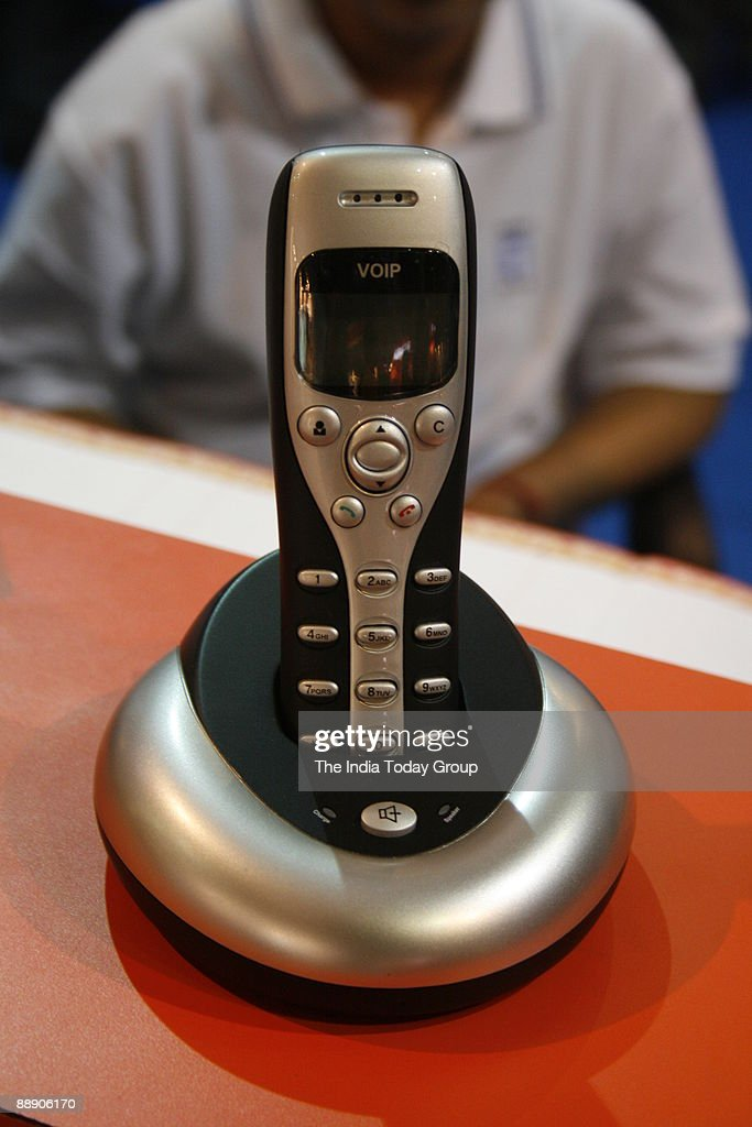 A Skype phone that enables you to talk to your friends on