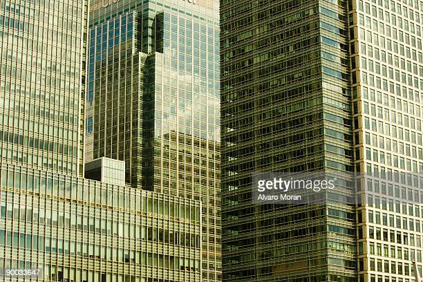 Skyscapers and reflections