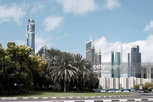Skyscraper at Sheikh Zayed Road