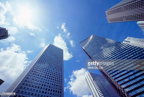 Skyscraper, Chiyoda, Tokyo, Japan