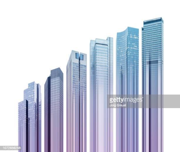 Skyscraper graph