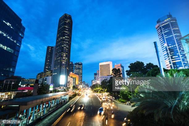 Skyscraper in Jakarta, Indonesia