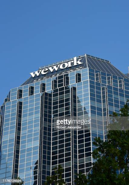 A skyscraper in Nashville Tennessee which houses WeWork coworking offices