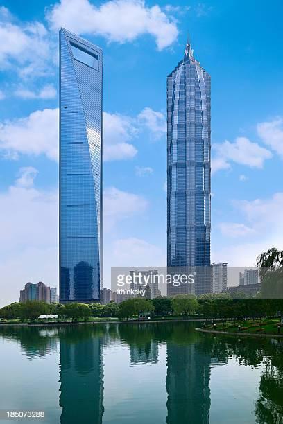 Skyscraper in Shanghai,China