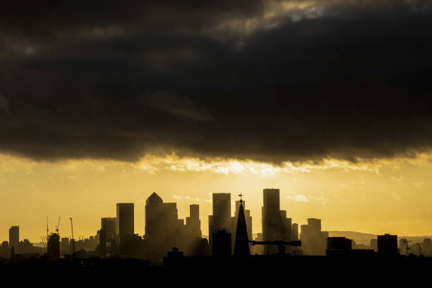 GBR: Canary Wharf Views Following Chancellor Rishi Sunak's Budget