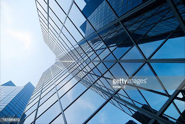 skyscraper - montréal stock pictures, royalty-free photos & images
