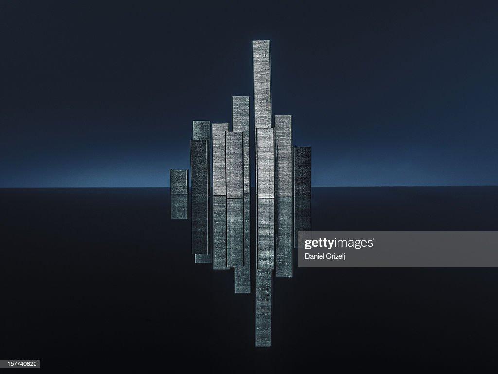 skyscraper staples : Stock Photo