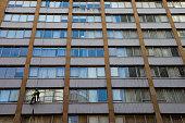 cleaning windows skyscraper sydneys cbd