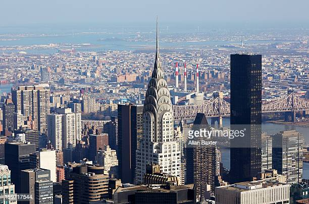 skyscrapers and chrysler building - chrysler building stock pictures, royalty-free photos & images