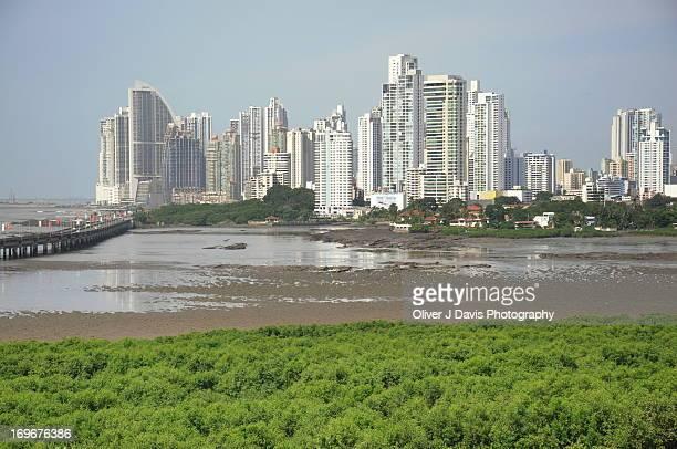 Skyscrapers and Skyline of Panama City