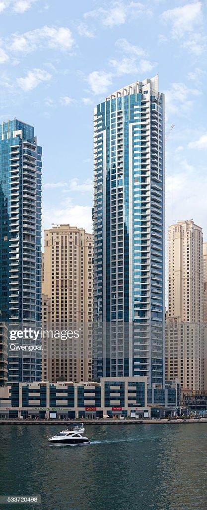 Grattacieli a Dubai Marina : Foto stock