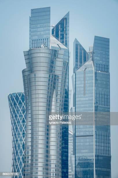 Skyscrapers, downtown Doha, Qatar