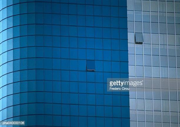 Skyscraper's facade