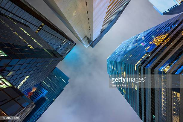 skyscrapers face to face
