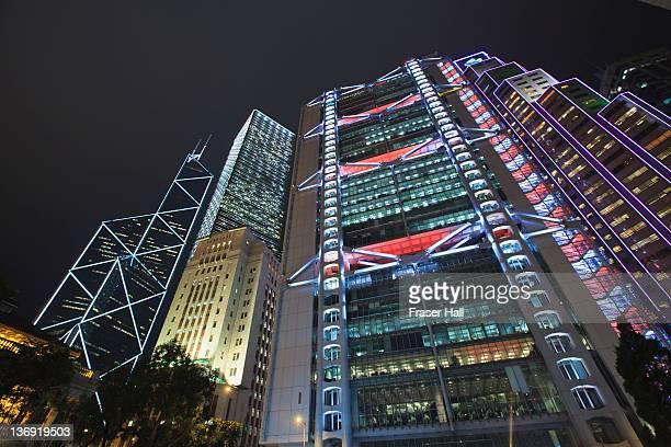 Skyscrapers, Hong Kong