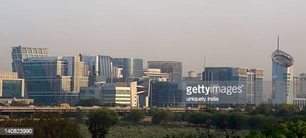 Skyscrapers in a city, Gurgaon, Haryana, India