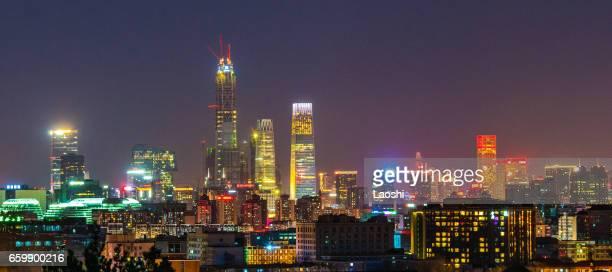 Skyscrapers in Beijing, China.