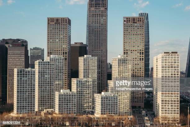 Skyscrapers in Beijing