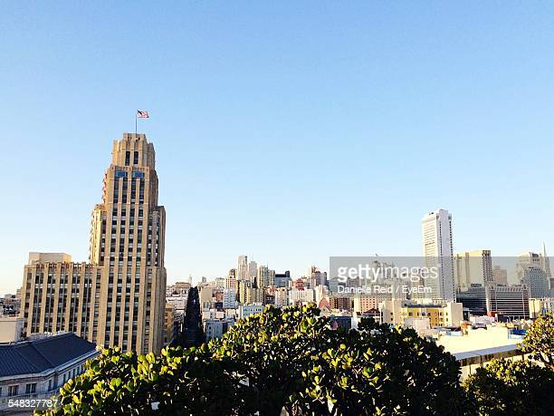 skyscrapers in city - danielle reid stock pictures, royalty-free photos & images