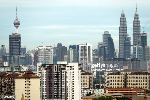 skyscrapers in city - shaifulzamri eyeem stock pictures, royalty-free photos & images