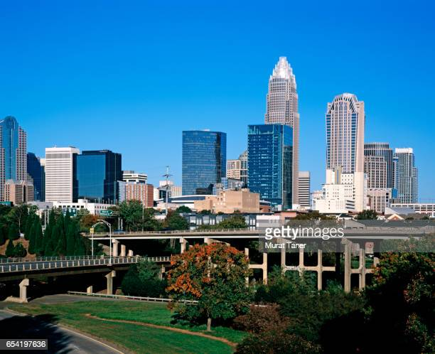Skyscrapers in downtown Charlotte