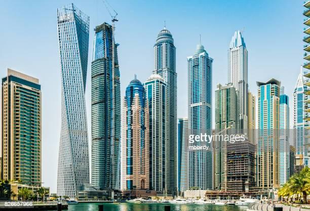 Gratte-ciel de Dubai marina, Émirats Arabes Unis