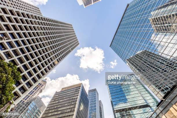 Skyscrapers in Hong Kong Central,