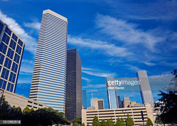 Skyscrapers in Houston's Central Business District