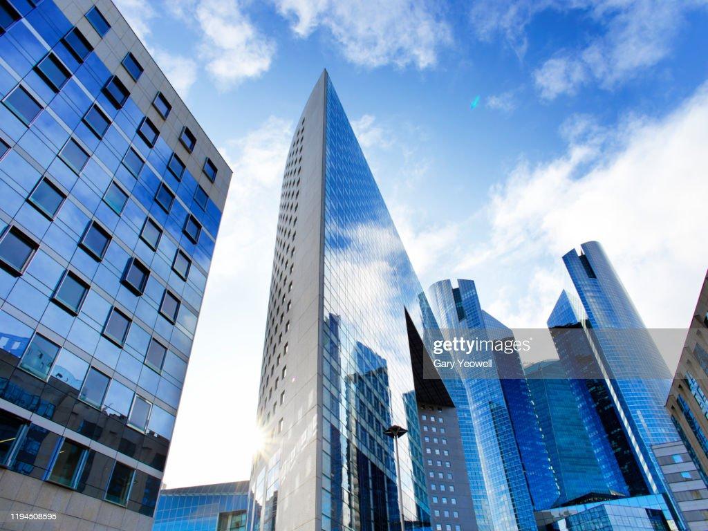 Skyscrapers in La Defense : Stock Photo