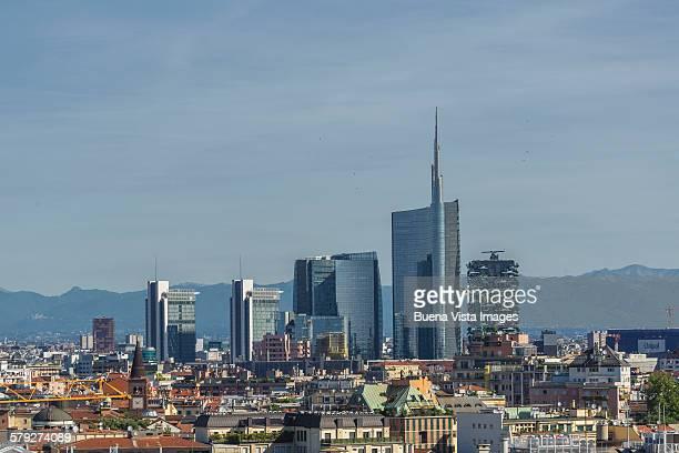 Skyscrapers in Milan?s skyline