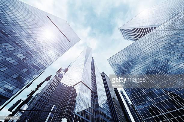 Skyscrapers in New York City, midtown Manhattan, USA